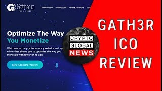 Gath3r, optimising the way you monetize. ICO Review