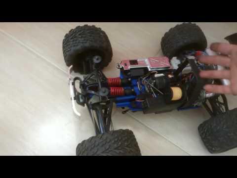 Traxxas Top  Revo 5309 com Ré e motor de Picco 26