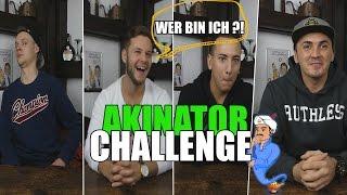 AKINATOR IN REALLIFE | mit Inscope | Sascha & Barid