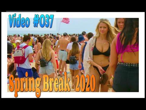 Spring Break 2020 / Fort Lauderdale Beach / Video #037