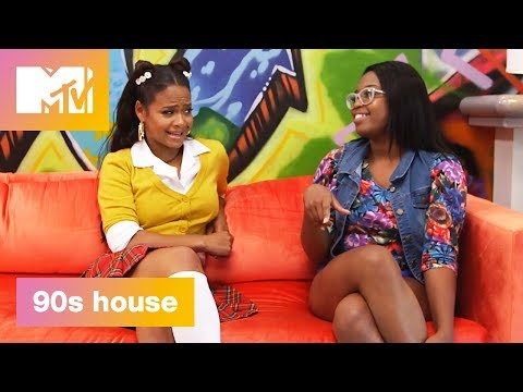 90's Living Room: Dial-Up Is Slow | 90's House: Hosted by Lance Bass & Christina Milian | MTV