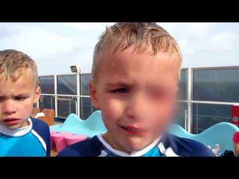 5 MOMENTI SPAVENTOSI Nei PARCHI ACQUATICI Ripresi Da Una Videocamera #3