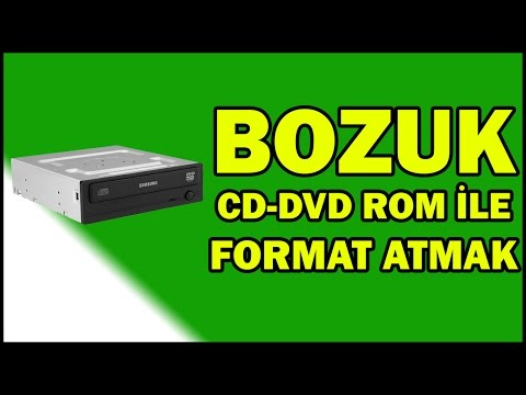 Arızalı CD-DVD Rom ile Nasıl Format Atılır?