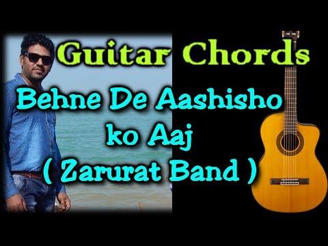 Zarurat Band    Behne De Aashisho Ko Aaj    Guitar Lesson    Christian Song