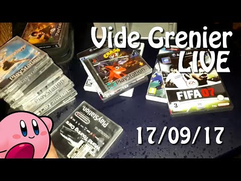 Vide grenier LIVE - 17 septembre 2017