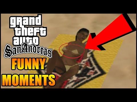 GTA San Andreas Funny Moments (Part 1)