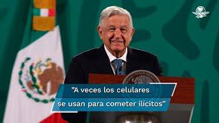 Durante la conferencia matutina del presidente Andrés Manuel López Obrador, informó que se aprobaron los nuevos requisitos para contratar servicios móviles, que implica el almacenamiento de datos, y afirma que es con motivos de seguridad