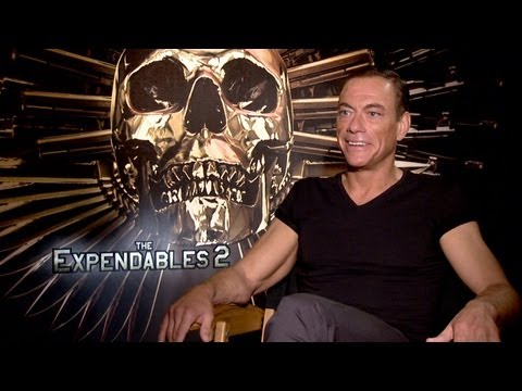 'The Expendables 2' Jean-Claude Van Damme Interview