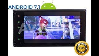Штатная магнитола Toyota(+Daihatsu) универсальная 2DIN (200x100мм) Android 7.1.1 (+SUB) CF-3048M-B