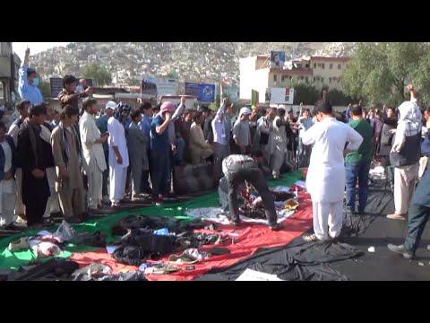 80 Killed, 230 Injured in Kabul Bomb Attack