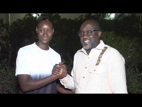 Soutien du Basket Thiessois Maodo Malick Mbaye et Fatou Diagne s'engagent