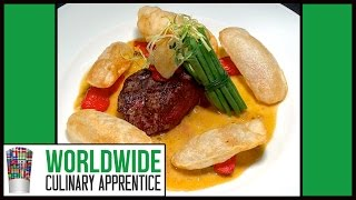 38 Ways To Plate Beef - Part 1- Food Plating - Food Decoration - Food Garnishes - Food Arts