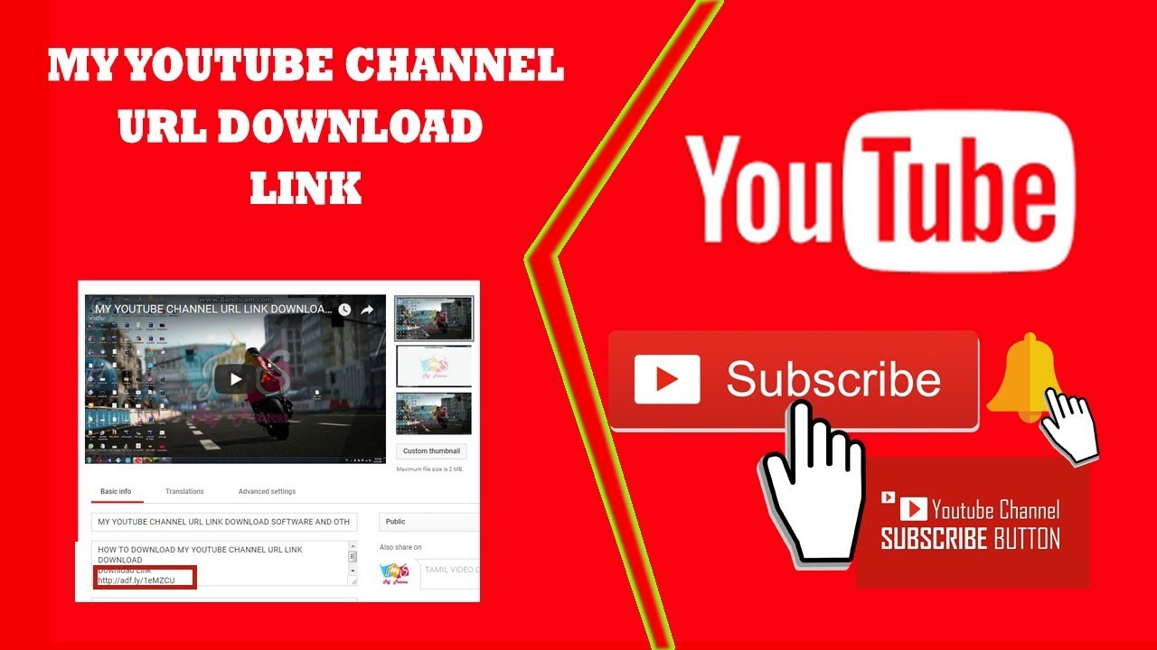MY YOUTUBE CHANNEL URL LINK DOWNLOAD SOFTWARE AND OTHER
