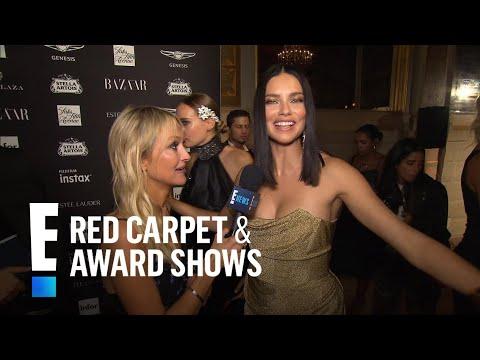 Adriana Lima Tries to Brush Off Nicki Minaj & Cardi B's Fight | E! Live from the Red Carpet