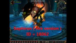 WoW GM morph Tutorial, with nice morph ID's ! HD (Audio HQ)