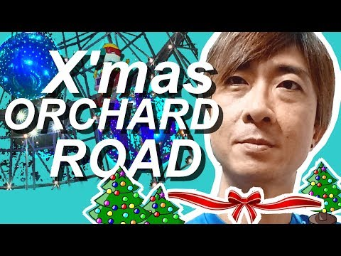 Singapore Orchard  Road Christmas Lights 2017 in 4K UHD