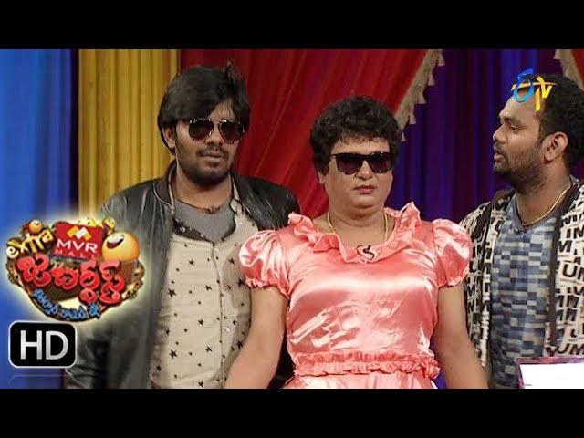 Sudigaali Sudheer Performance | Extra Jabardsth | 11th August 2017| ETV  Telugu