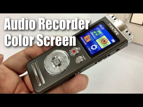 8GB Digital Audio recorder with Color Screen by TronicTang Review