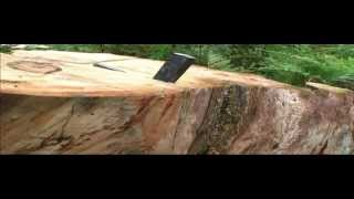 Cutting Firewood In Australia -- Part 2 Hand Splitting With Metal Wedges