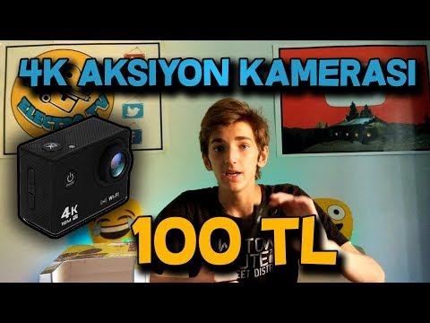 100 TL'ye 4K Aksiyon Kamerası