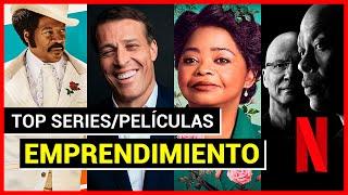 Top 5 SERIES/PELÍCULAS sobre Emprendedores en Netflix (100% Recomendables)