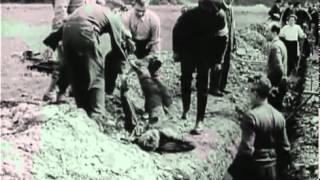 Нацистские концентрационные лагеря / Nazi Concentration Camps (1945)(Этот фильм был смонтирован специально для Нюрнбергского Процесса над нацистскими преступниками. В этой..., 2012-06-09T04:08:47.000Z)