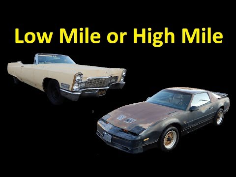 How To Buy or Sell Classic Cars ~ Low Mile or High Mile Car inspection Tips