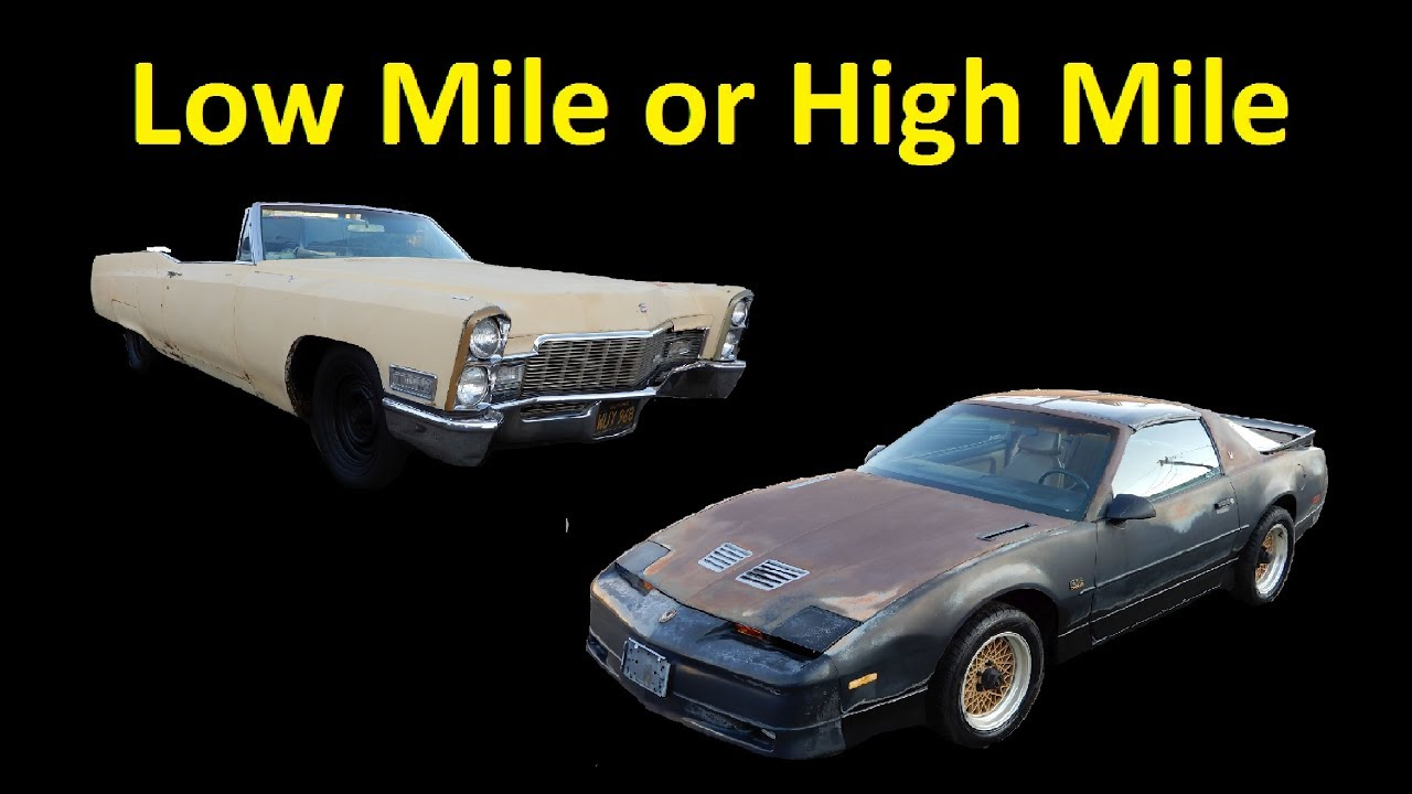 How To Buy or Sell Classic Cars ~ Low Mile or High Mile Car ...