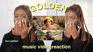 "HARRY STYLES ""GOLDEN"" OFFICIAL MUSIC VIDEO REACTION"