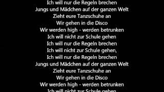 charli xcx break the rules deutsche bersetzung german lyrics