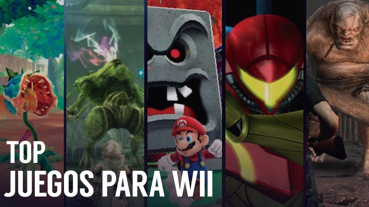 Los Mejores Juegos Para Wii Top 2018 Auror Youtube