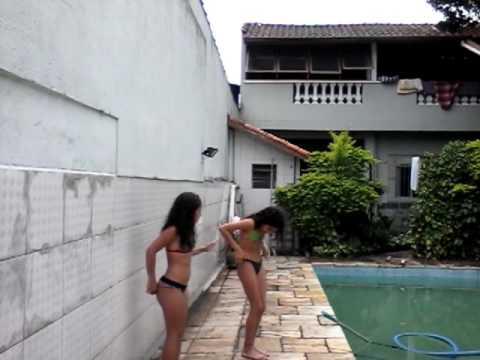 Desafio da piscina com a Marie