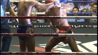 Muay Thai Fight - Thanonchai vs Muangthai, Rajadamnern Stadium Bangkok - 2nd July 2015