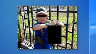 """""""Это мой мальчик"""": боевик из Сирии  показал  фото сына с отрубленной головой в руках"""