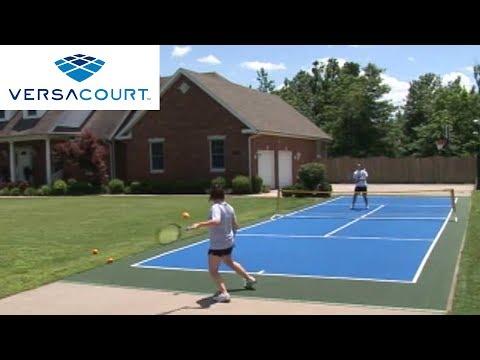 Mini Tennis Court (Quick-Start Court) by VersaCourt