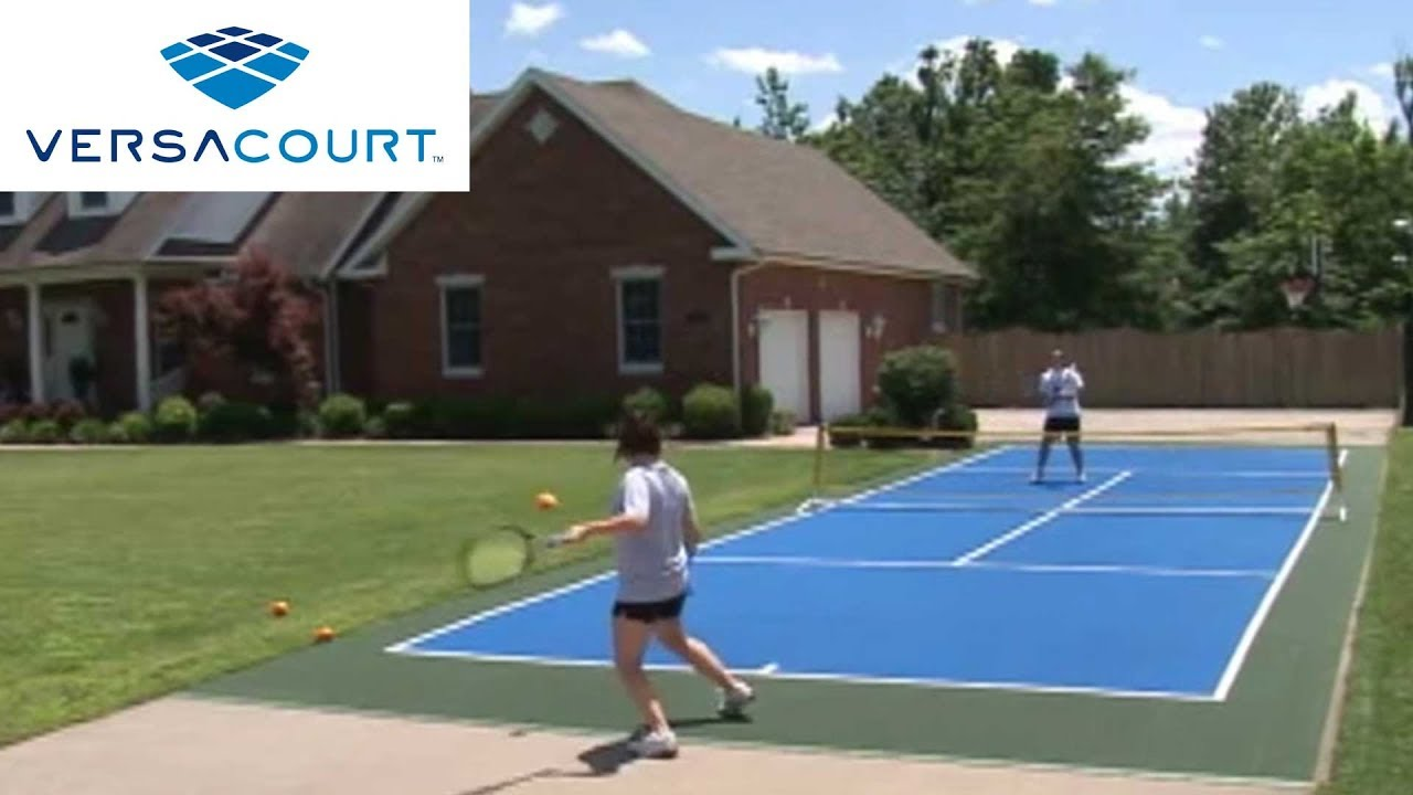 How Much Does It Cost To Build A Tennis Court In Your Backyard