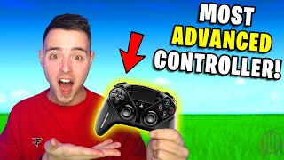 Trying The *MOST ADVANCED* Controller in Fortnite...