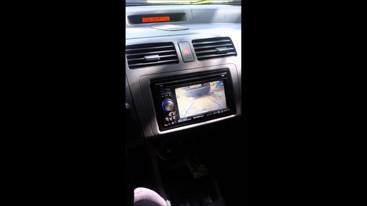 Suzuki Swift Rear Camera Youtube