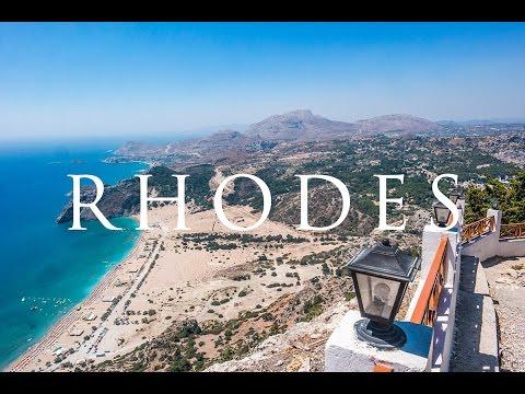 Rhodes island aerial trip 2016