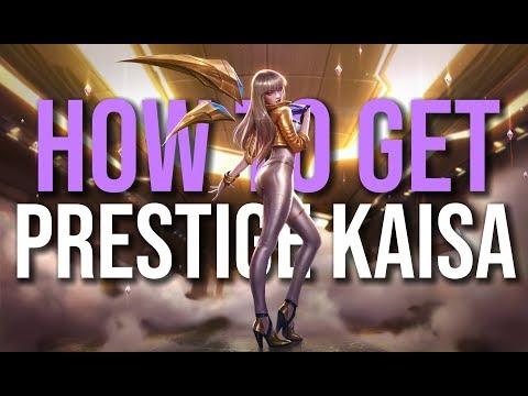 Easiest way to get K/DA Prestige Kai'Sa