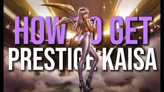 How to get K/DA Prestige Kai'Sa
