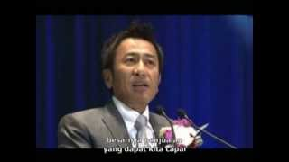 mr shuji inaba mengumumkan slogan baru naturally plus festa 2013
