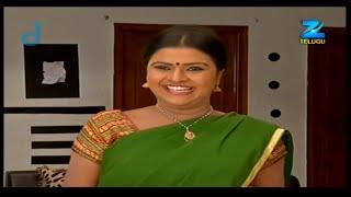 Konchem Ishtam Konchem Kashtam - Indian Telugu Story - Epi 143 - Zee Telugu TV Serial - Recap
