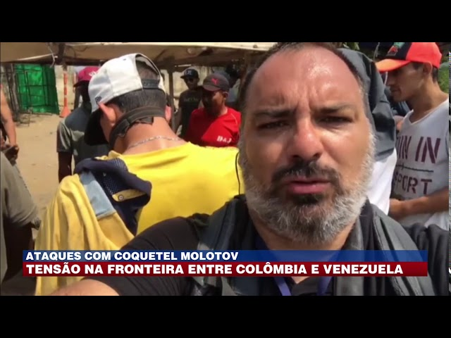 Ataques com coquetel molotov: tensão na fronteira entre Colômbia e Venezuela