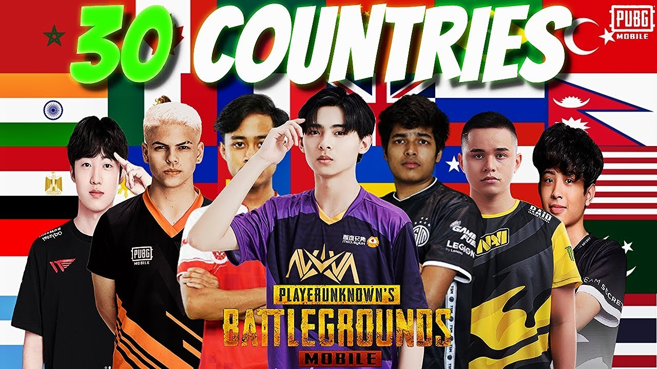 Best Esports Player of Every Country 2021 | PUBG MOBILE Esports