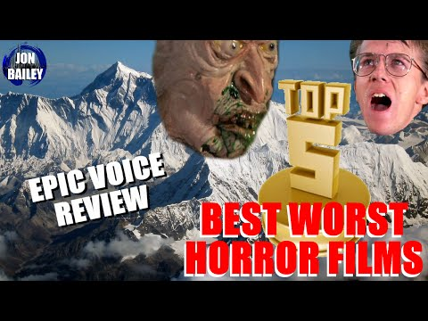 EVEREST, TWD & TOP 5 BEST WORST HORROR FILMS (Epic Voice Review)