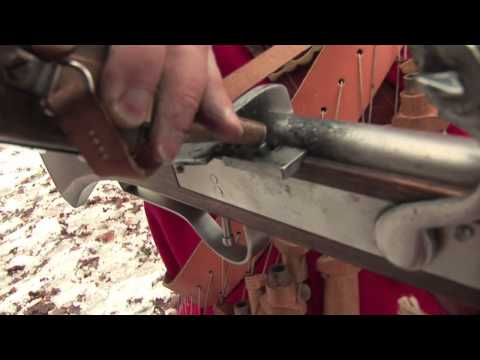How to fire a 17th Century matchlock musket