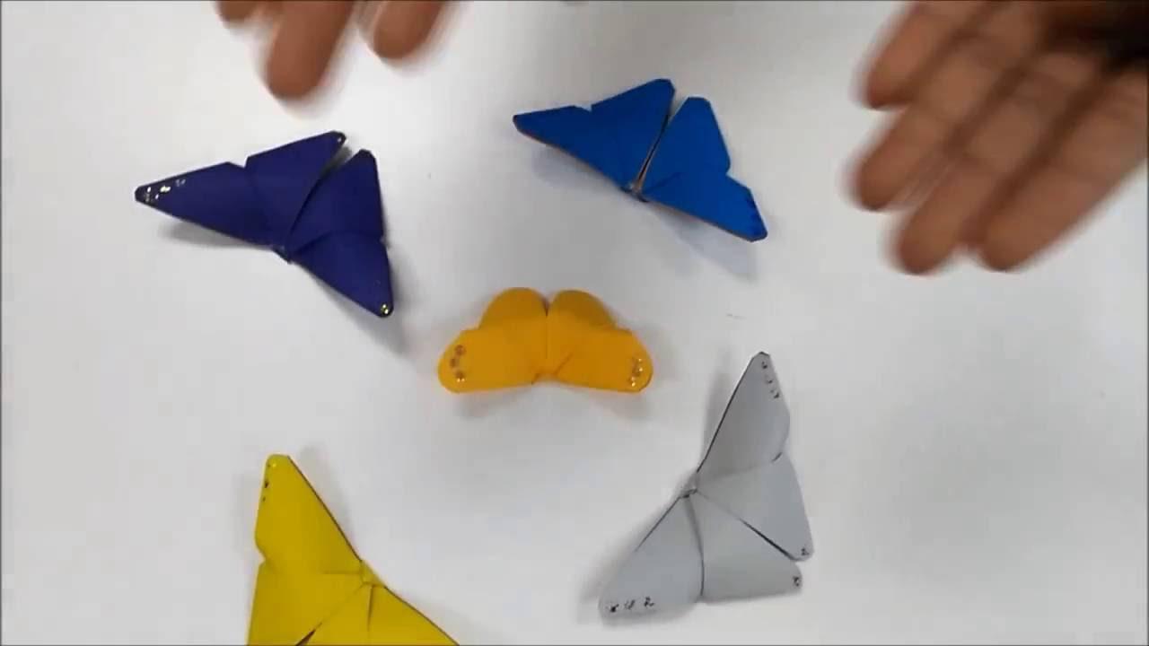 Membuat Origami Rama Mykif