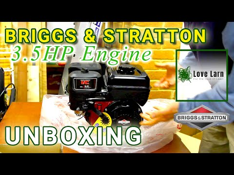 Unboxing A Briggs & Stratton 3.5HP (550 Series) Engine