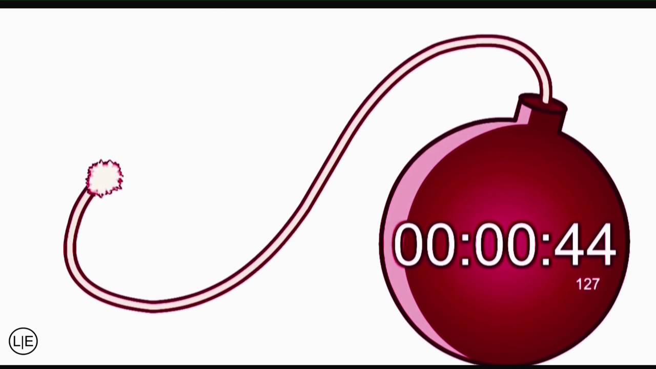 1 minute timer-bomb - YouTube